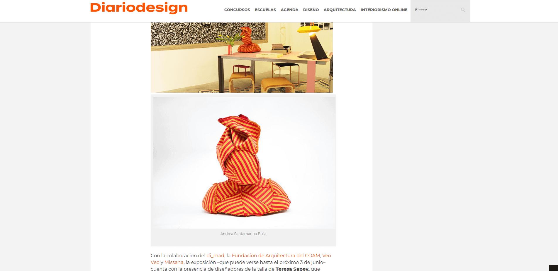 Andrea Santamarina Press web diariodesign