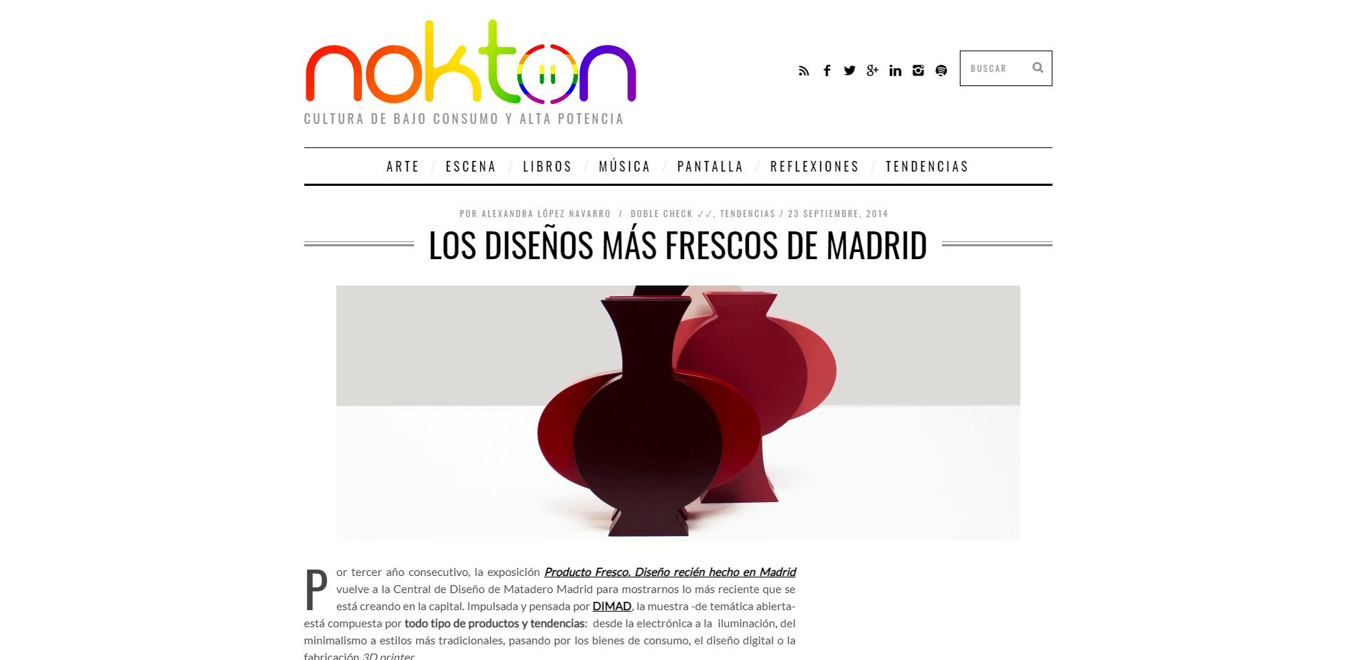 Andrea Santamarina Press web nokton