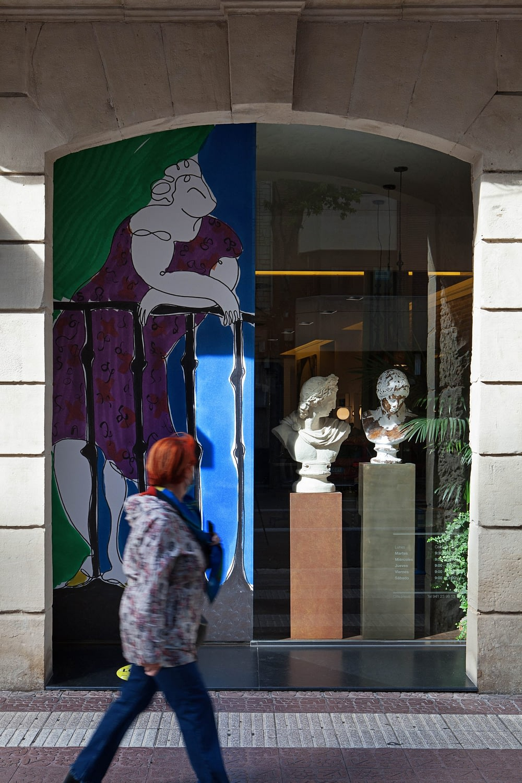 Andrea Santamarina studio Lovisual 20 Asier Rua Logroño Drawings installations Javier Peña 2 scaled