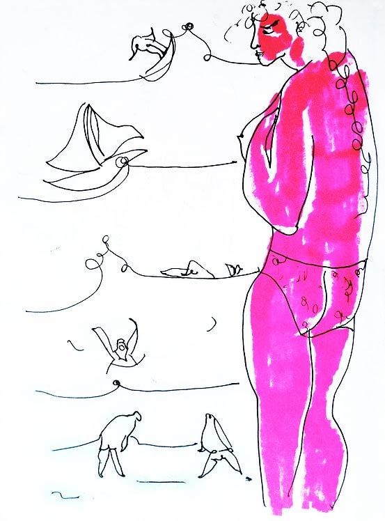 Andrea Santamarina Contemporary Artist Spain Instadrawings Camper EsBaluard Mallorca 38
