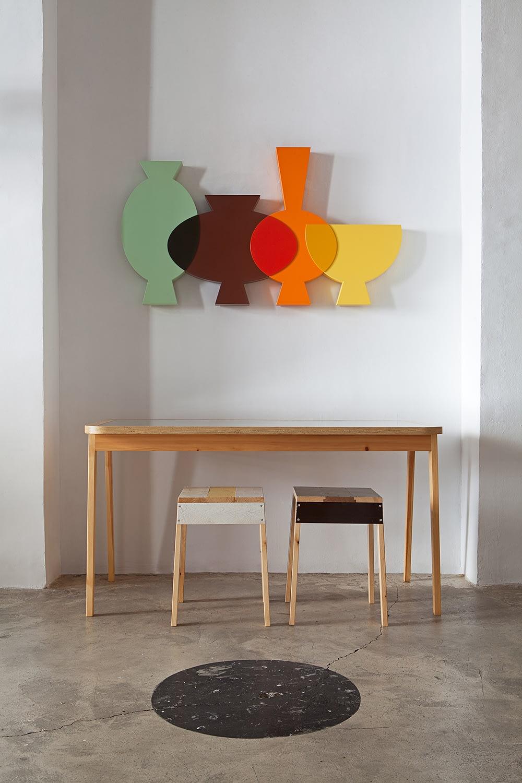 Andrea Santamarina Roomservice Design Asier Rua Flower Vases BCD Barcelona Design Week Metal Vases Flatwins Production Process 2