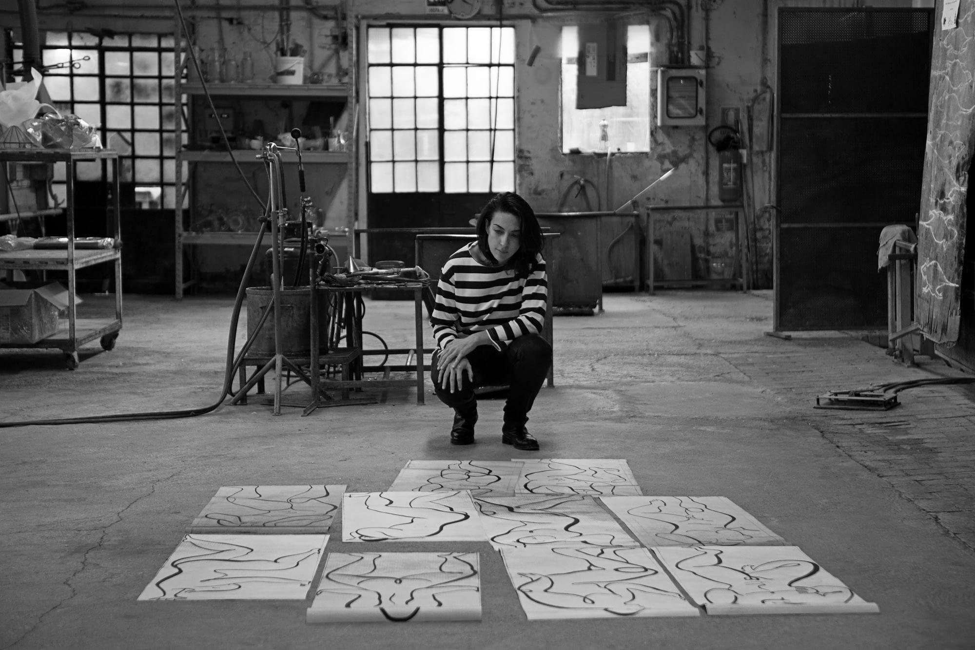 Andrea Santamarina Studio Asier Rua Spanish Designer Diseñadora española Drawings Berengo Studio scaled
