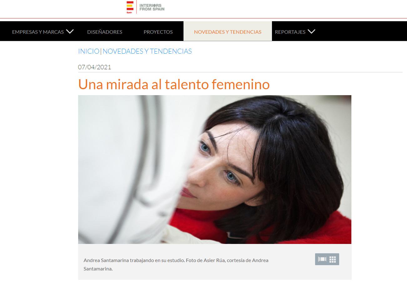 Andrea Santamarina Press Interiors From Spain